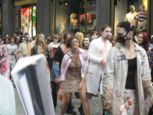 Prague zombie walk 2014